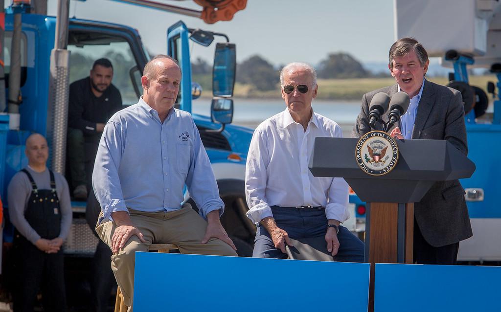 IBEW, PG&E, VP Biden