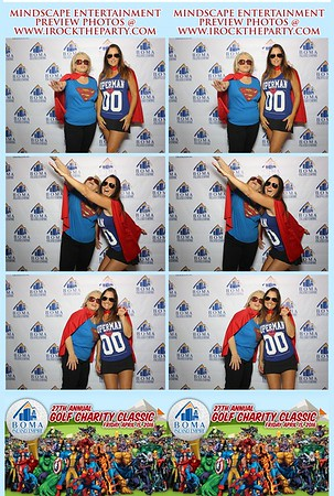 II BOMA Inland Empire Charity Golf - Photo Booth Pictures