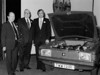 Morgan Davies of the CDA (UK), Charlie Moore and Brian Moreton with a copper radiator?
