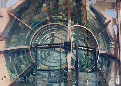 Lighthouse lens - Phare de Gatteville, Barfleur, Basse Normandy, France