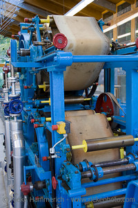 paper manufacture - shallow DOF - environmental protection with technology