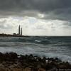 Industrial Haifa from Caesarea