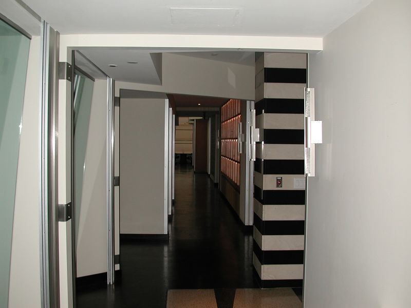 This is looking down the hall on one side of the office.  The other hall is on the other side of the building.