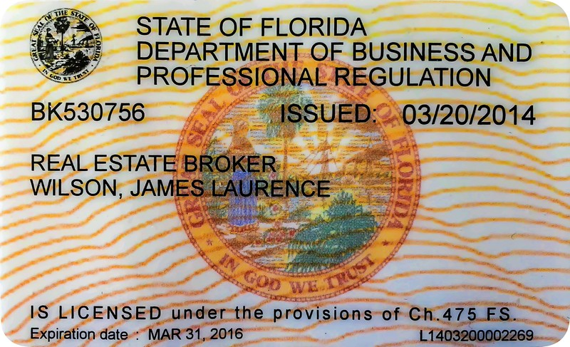 "Florida Real Estate Broker Licensee:  Currently Licensed through March 31, 2016. FREC BR-0530756, fulfilling continuing education biannually.  Florida Atlantic University, College of Science, Adjunct Faculty: Authored ""Principles of Digital Photography and Post Image Processing,"" a technology book used at FAU, Published by Pearson Education, Inc., Boston, Mass, 1st edition Oct., 2003; 2nd edition, March, 2007."