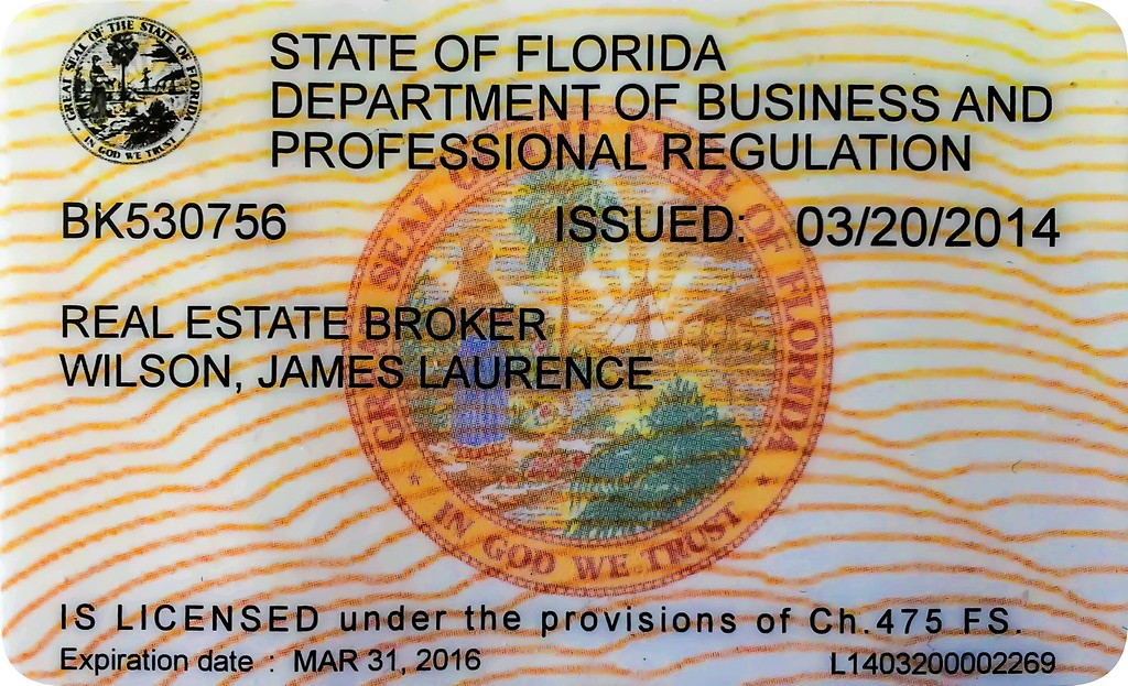 """Florida Real Estate Broker Licensee:  Currently Licensed through March 31, 2016. FREC BR-0530756, fulfilling continuing education biannually.  Florida Atlantic University, College of Science, Adjunct Faculty: Authored """"Principles of Digital Photography and Post Image Processing,"""" a technology book used at FAU, Published by Pearson Education, Inc., Boston, Mass, 1st edition Oct., 2003; 2nd edition, March, 2007."""