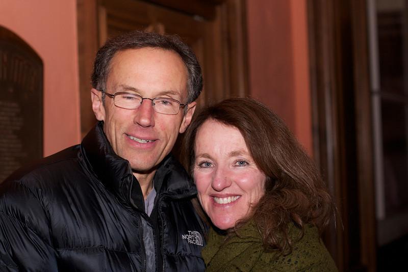 Peter Metcalf (CEO of Black Diamond Inc.) and Amy Maron.
