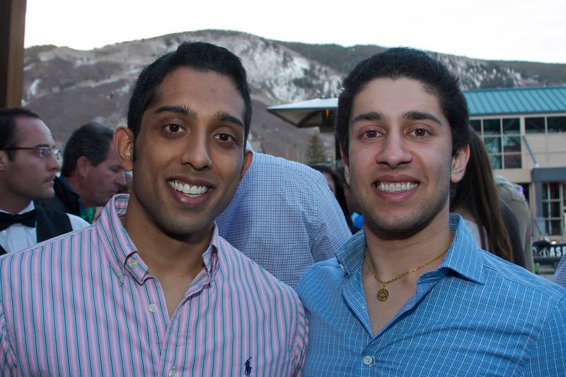 Vijay Rao & Ali Carim.
