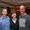 Mark Neuman, Cindy and kyle Lefkoff.