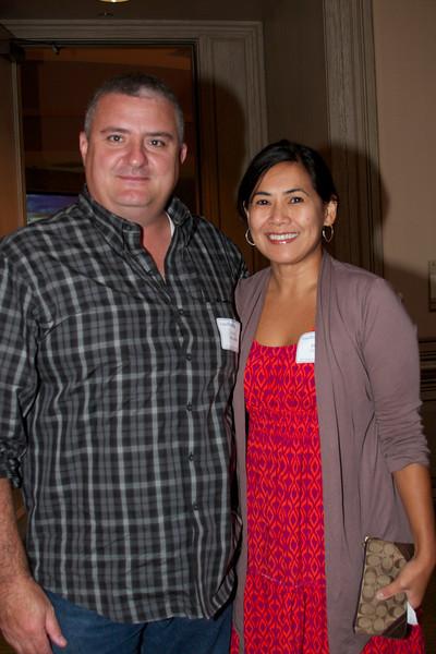 Paul Imbimbo (Portsmouth) and Regina Conely (Westlake)