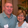 Andy Walsh (Greenwich) and Carol Castro (Charleston)