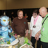 Julana's Baby Navi Avatar with judges Amazing Mike and Nicholas Lodge