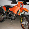 KTM 530EXCR Adventure build by ZMW