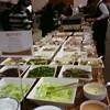 buffet at the awards dinner