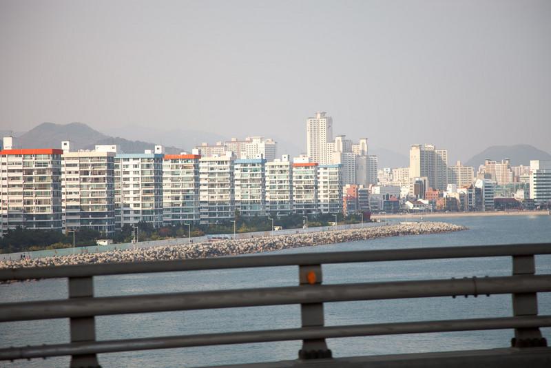 city from the bridge