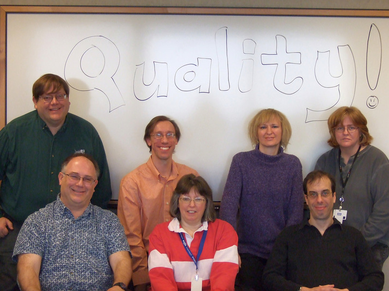 Chicago Engineering, March 12, 2009<br /> Back Row: Ralph, Chuck, Violeta, Winifred<br /> Front Row: Jim, Donna, Jerry