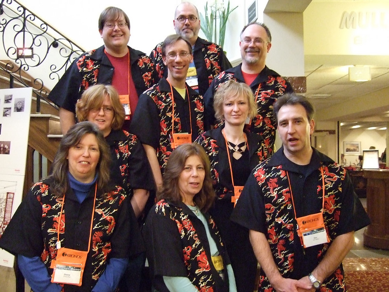 Team Shirt Day at  the 2007 Tech Summit