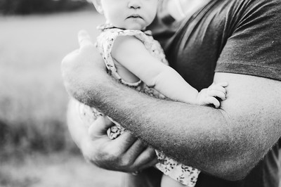 3  Tiny Baby in Daddy's arms - Madsen Family ~ 6 2015 -0246