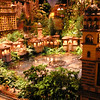 Out of focus lobby display at Bellagio