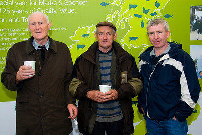 G Doherty (Louth Village, Dundalk), Owen Dongrhy (Forkhill), Jeff Walker (Ballyward)