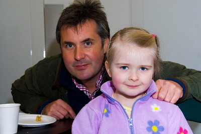 Colin McKnight and daughter Eloise, Newtownards