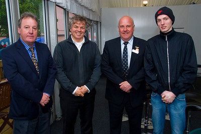 James Hewitt (Hewitt meats), Marcel de Koes (Holland), William Waugh (Linden Foods), Folkert Bosman (Holland).