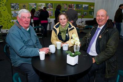 Gawn Newell (Hillsborough), Victoria Horton (Lincoln, England), Crosby Cleland (Saintfield)