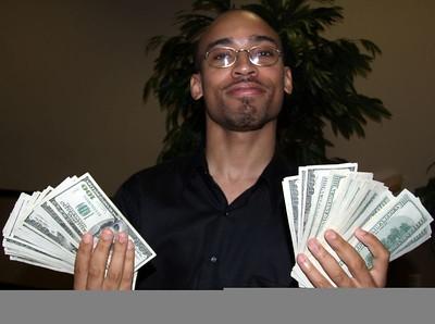Brian w/100 Benjamins