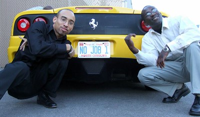 Brian & Olla with the Ferrari 360