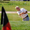 "John Bell gets some practice time in at Indian Peaks Golf Course in Lafayette on Tuesday.<br /> For more photos and video of  two local golf courses, go to  <a href=""http://www.dailycamera.com"">http://www.dailycamera.com</a>.<br /> Cliff Grassmick / June 28, 2011"