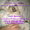 "PETS Vicki Skinner's - LOVING Your PET • HOUSE SITTING Service - Sharing Magic Hands & LOTS of LOVE to your pets! : . LOVING YOUR PET • HOUSE SITTING SERVICE!  http://LovingYourPetHouseSitting.com   PET SITTING You go away and have to leave them - that alone can get many pets confused or traumatized. Put them in a new environment – especially a cramped kennel or a cage where they can't be free to roam or receive lots of attention – that can REALLY trigger things in them also (ESPECIALLY Rescue Pets that already have abandonment issues)!!  You can lessen that trauma by leaving your loved one in their OWN environment•home•bed with someone that TRULY cares for them and will give them LOTS of love and attention!!!  Or have your past experiences with Pet•House Sitters been less than positive?  It's time you have something REALLY POSITIVE isn't it!!  Your pets DESERVE that!  LOTS OF LOVIN' and ATTENTION and RESPECT!!!  Animals are such GREAT teachers to us! #1 – they remind us about what UN-Conditional Love REALLY is!!! #2 – they're there for us whenever WE'RE needing some extra lovin'!!!  Usually you don't have to do a darn thing to get that from them!  I GET and RESPECT what ALL they do for us hence I HONOR that in them – ESPECIALLY in times they're confused as to why you're not there for them suddenly!  PET MASSAGES MY SPECIALTY - each pet I take care of gets MANY GREAT Pet Massages each day!! (sorry - I don't do people)!!!  KEEPING SCHEDULES•PATTERNS I help keep their schedule, I walk them 1+ times a day (I can use the exercise so I LOVE doing this!!) and give them EXTRA love/attention by holding•helping them through the separation.  SLEEPING WITH ME IS OK If they need to sleep with someone, I'm ok with that – anything that helps them feel more secure!  SKYPE CHECK-IN CALLS TO YOU!! Many OWNERS get their own Separation Anxiety so if you can get one a computer with http://Skype.com (I can help you set it up if you don't have it) you can call whenever you want so you can connect with your babies.   NICE and CLEAN WHEN YOU RETURN And, if your dog allows me to, I'll even give them a nice warm bath the day you return so they're nice and fresh for you!! (I actually am often able to get pets that get crazy at bath time - just walk on in!!)   You want them to be there for you and love on you don't you? Don't your pets•""Family Members"" DESERVE this type of special treatment when you've had to go away?     HOUSE SITTING Just need someone to HOUSE SIT???  I'll come in – staying at your home - and take GOOD care of it (I rarely go out as I do my work off the internet)?  I'll respect and watch over your home•castle!   @@@@@@@@@@@@@@@@@@@@@@@@@     AVAILABILITY:  September 6, 2014 (I'll be in Escazu before that)   MINIMUM AMOUNT OF TIME: TYPICALLY I have a 2 week minimum – especially if it's outside the Central Valley – but I CAN be workable with the right situation – especially if it's last minute or back-to-back with another gig.  Inquire!     @@@@@@@@@@@@@@@@@@@@@@@@@    RATE ""HOW MUCH DO YOU CHARGE?"" - HOW CAN YOU SHOW YOUR APPRECIATION TO ME FOR HELPING YOU AND YOUR BABIES?: I do NOT have one set price for everyone as everyone's situation is different & I can be workable depending on your HONEST circumstances and the situation and what you have to offer, so let's talk!  Currently I do this by ""DONATION"" - what is it worth to YOU to have someone come in & give your pets•home LOTS of loving/time/caring - almost as much as they get from you??   What can you TRULY afford?  I've even done it as a ""Trade"" for other services that I can use to trade/sell off.  I've had 4 nights in villa in Manuel Antonio plus $400 in Spa Credits.  Many have ""Gifted"" me $20-$40+ per day (especially if there is a fair amount of work/time put into it, puppies, more than 1 animal - or something a bit more complicated).  Some have gifted me just $10/day.  That would be for a TOTALLY UNcomplicated gig in a convenient location PLUS FOOD (mainly housesitting with NOTHING else to do and great houses)!  Is the sitter supposed to be there pretty much 24/7? Or can they go about their regular life and are there mainly to let the animal in/out 1-2 times a day and feed the pet(s) (like for a cat), give them some lovin'?  Is it a puppy/pet that pees or poops inside?  Are they a shedder (I don't do heavy cleaning so if it's needed - either you have a house cleaner or pay me extra).  It can be more if it's more than 1 dog, puppies, massages/brushing, if you're required to spend more time with the animal like walking them (and how many times a day), they're higher maintenance or larger dogs or un-housebroken pets, etc. Is the sitter also there to keep an eye on the employees/deal with them?? The value of the property/area is also taken into the consideration as well. Is the location convenient to shopping/getting around?  POINT OF REFERENCE - KENNEL•VET RATES: Many Kennel•Vets I've seen charge $10+ PER Cat & $15+ (++ depending on the size) PER dogs (of course more for additional pets). BUT - those pets are often in a cage (or small fenced in kennel) and don't get lots of one-on-one lovin'/attention. Many charge extra for walking, massages, brushing, special attention+ & Dog Walking in Costa Rica seems to range from $12-$15 each time for 45-60 minutes for the first dog (and more if it's a bigger/harder to control animals like Puppies. Plus more for additional dogs).  PET•HOUSE SITTING RATES IN COSTA RICA: I've been doing LOTS of research on this this past year (for Costa Rica) and have found rates range anywhere from $0-$40/day - depending on what is required and what's given back.  Some people (NOT ME) are doing this to have a free place to stay while traveling around Costa Rica & may not be around a lot.  Prices for Pet • House Sitters is a LOT less than the average $30-$100/day often in the U.S.!!  FOOD & TRANSPORTATION: With pet sitting I've also found standard is FOOD IS INCLUDED for the Sitter - as is PAYING FOR ALL THEIR TRANSPORTATION.   POTENTIAL PROBLEMS WITH HIRING A PET•HOUSE SITTER: Sadly MOST people I've been pet/house sitting for lately have had negative to HORROR stories to share - everything from things being stolen (most common), moving their families/friends in without permission, their drawer/closets gone through, breaking things and not fixing them/paying for it, big international phone bills, throwing parties, not giving much attention to the pets (especially when they panic with thunder or fireworks - MY speciality) - so make sure you know something about the person that's watching your babies if you really care about them and want them to be as less traumatized as they can be! They've all been VERY HAPPY finding me (most I've sat for multiple times!)!!   FYI - ""Donation"" does NOT mean free MOST of the time though there MAY be an exception depending on what you're giving back to me as well.   So what do you think it's worth to you to have such a caring service - and/or what can you TRULY afford to have this ease and level of service (I've had some people claim to have limited funds - and then went on a $5,000 vacation. Everyone has different levels of love for their pets). If it's a more complicated situation - please REALLY show your appreciation!!    @@@@@@@@@@@@@@@@@@@@@@@@@@@@@    MORE DETAILS COMING SOON (pricing, amount of pets, requirements++)   @@@@@@@@@@@@@@@@@@@@@@@@@    CONTACT: Vicki Skinner (aka ""THE Sarong Goddess"")  8-378-6679 - Costa Rica • LivingLifeInCostaRica@gmail.com  1-941-312-7569 - U.S. #  Skype: VallartaVicki (if it doesn't show up, search for it under VickiSkinner69@aol.com)    PLEASE ""SHARE"" this message with everyone you know that can use a PET SITTER • HOUSE SITTER! http://LovingYourPetHouseSitting.com  ."