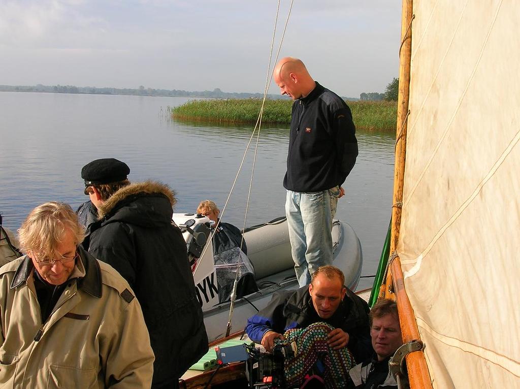 camera in de boot