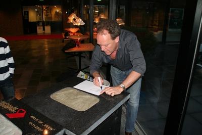 Bert Visscher handtekening