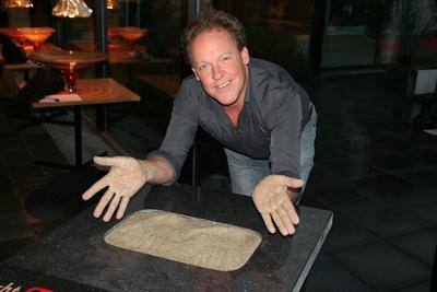 Bert Visschier handafdruk
