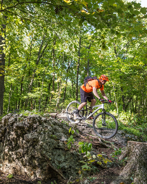 Blue Mound State Park Mountain Biking