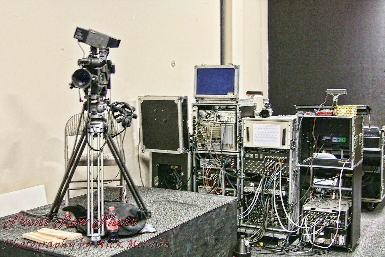 Video equipment set up for Music Video Production