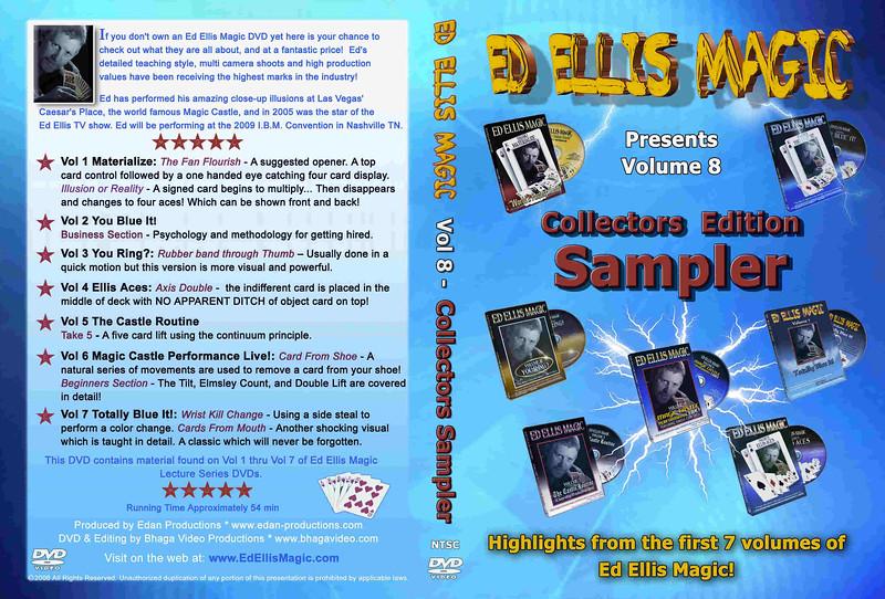 Ed Ellis DVD Artwork