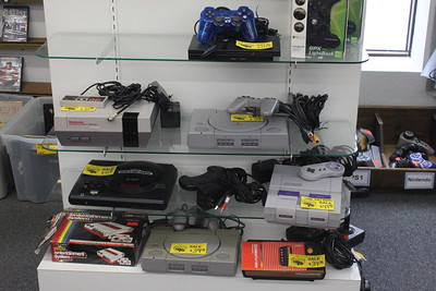 Classic video games and consoles, some dating back to the early 1980s are featured at Main Street Audio Video Thursday, June 4 at 701 N. Mission St.