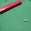 """""""Mini-Pool"""" <br /> This was not staged. The balls were just played and wound up here!"""