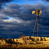 Windmill at Hawk Creek Road by Samantha Kam