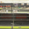 Empty produce shelves at Market Basket on John Fitch Highway in Fitchburg on Wednesday around 5 in the afternoon. SENTINEL & ENTERPRISE / Ashley Green