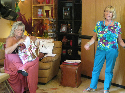 <font size = 3><b><font color =66CCFF>May 17th, 2009 - Faye's <br> Tru Chocolate meeting