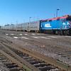 The rail yard of sunny Waukegan, IL.