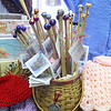 Penny Godin of the Merry Weaver in Leominster sells Serendipity Needles in her store. SENTINEL & ENTERPRISE/JOHN LOVE
