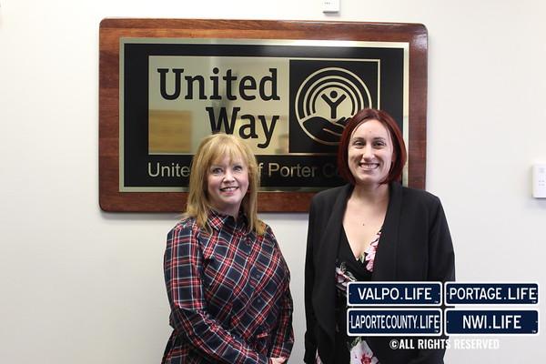 United Way of Porter County Check Presentation 2019