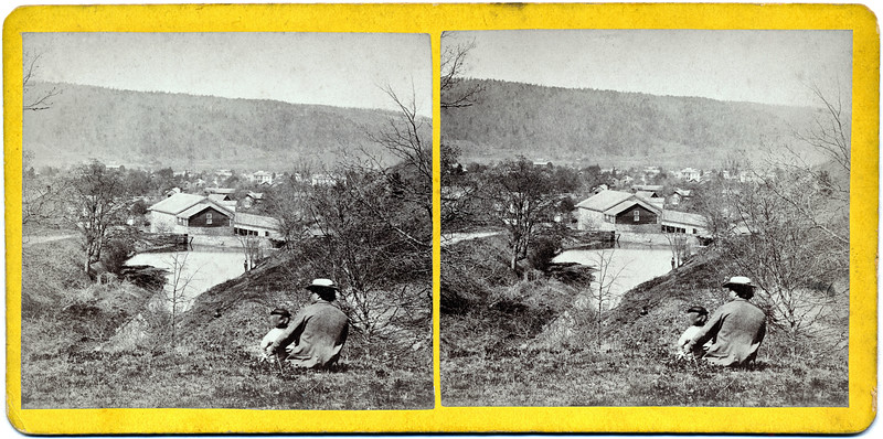 Top of Montville Hill? Mill in the center of Moravia, NY. (Photo ID: 29466)