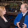 Erica Moore and Harold Denton discuss production at MillenniTEK