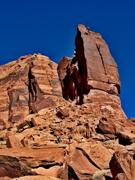 Moab, Utah and American Mountain Guides Association meetings October 30, 2009 to November 1, 2009 - Trail to Top Rope Event