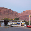 Moab, Utah and American Mountain Guides Association meetings October 30, 2009 to November 1, 2009 - Side Street Moab at Sunrise