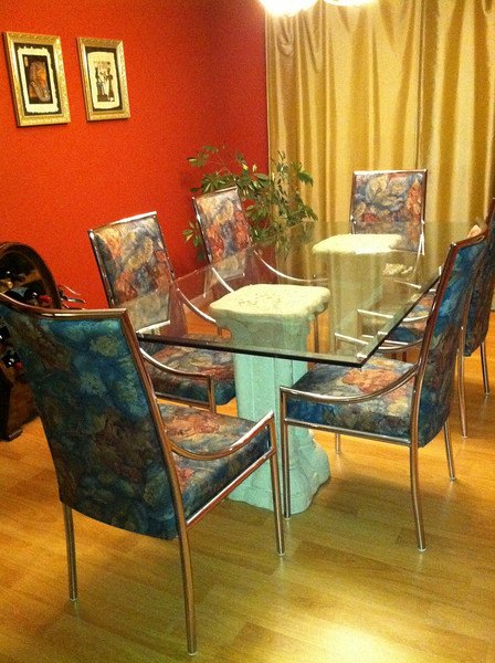 Perhaps use this dining set for the dining room