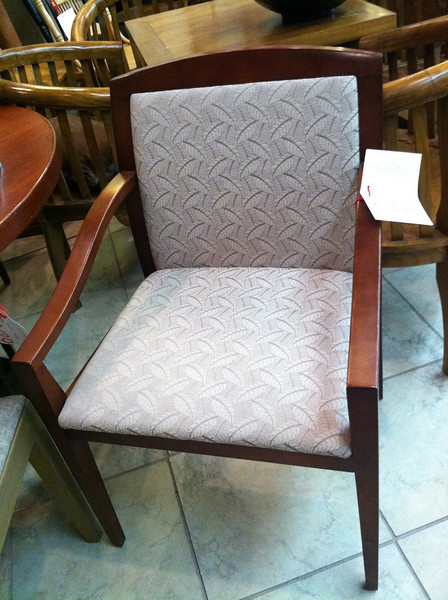 Prospective arm chair for either bedroom or LR?